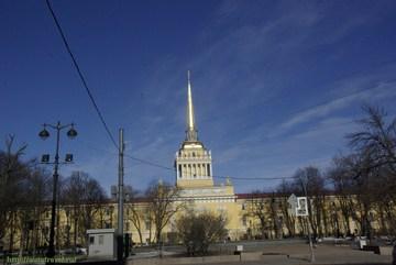 Санкт-Петербург (Ленинградская область): Достопримечательность Здание Главного адмиралтейства