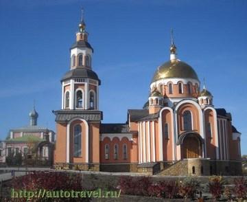 Саратов (Саратовская область): Достопримечательность Свято-Алексеевский монастырь