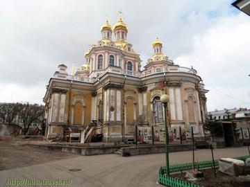 Санкт-Петербург (Ленинградская область): Достопримечательность Крестовоздвиженский Казачий собор