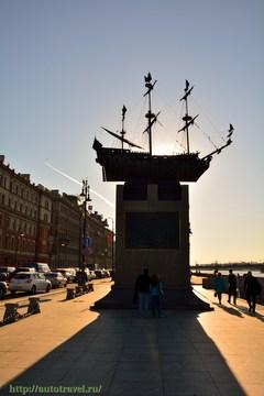 Санкт-Петербург (Ленинградская область): Достопримечательность Памятник кораблю «Полтава»