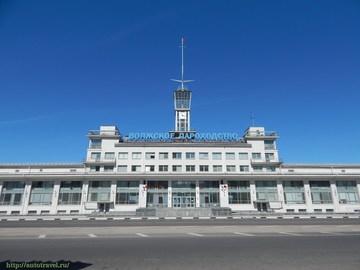 Нижний Новгород (Нижегородская область): Достопримечательность Речной вокзал