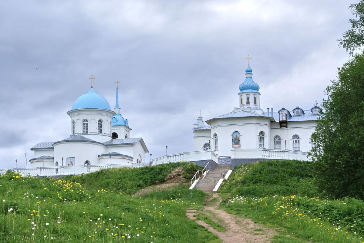 Фото монастырей ленинградской области