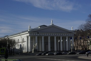 Санкт-Петербург (Ленинградская область): Достопримечательность Центральный выставочный зал «Манеж»