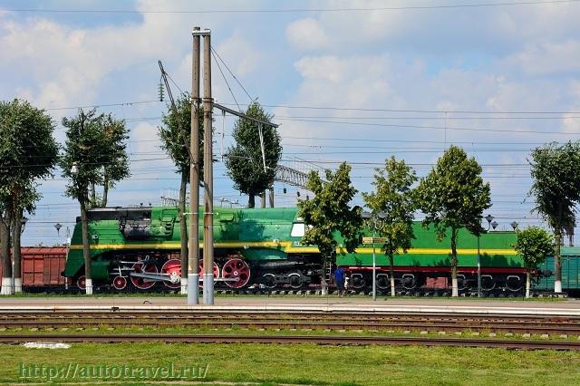Фотография Памятник паровозу П36-0111 (Орша (Беларусь))