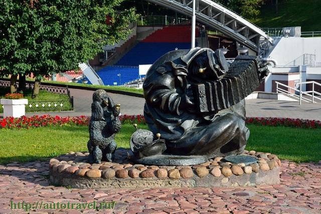Фотография Летний амфитеатр (Витебск (Беларусь))