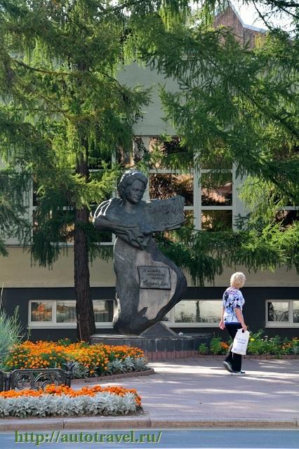 Фотография Памятник Евдокии Лось (Витебск (Беларусь))