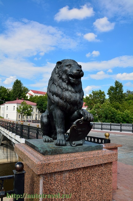 Фотография Пушкинский мост (Витебск (Беларусь))