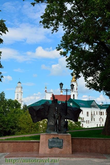 Фотография Памятник А.С. Пушкину (Витебск (Беларусь))