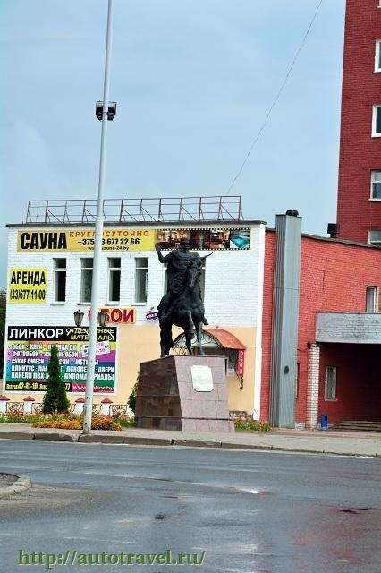 Фотография Памятник князю Всеславу Брячиславичу (Полоцк (Беларусь))