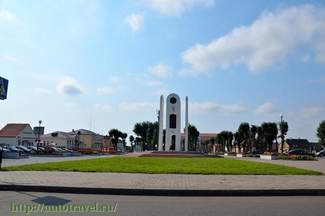 Фотография Архитектура Ивье (Ивье (Беларусь))