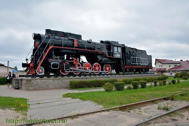 Фотография Памятник воинам - железнодорожникам (Лида (Беларусь))