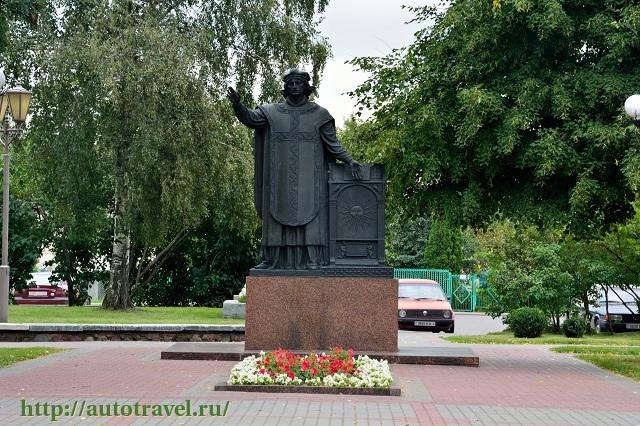 Фотография Памятник Франциску Скорине (Лида (Беларусь))