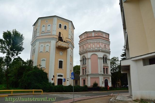 Фотография Водонапорные башни