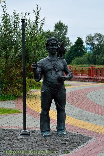Фотография Памятник боцману (Кобрин (Беларусь))