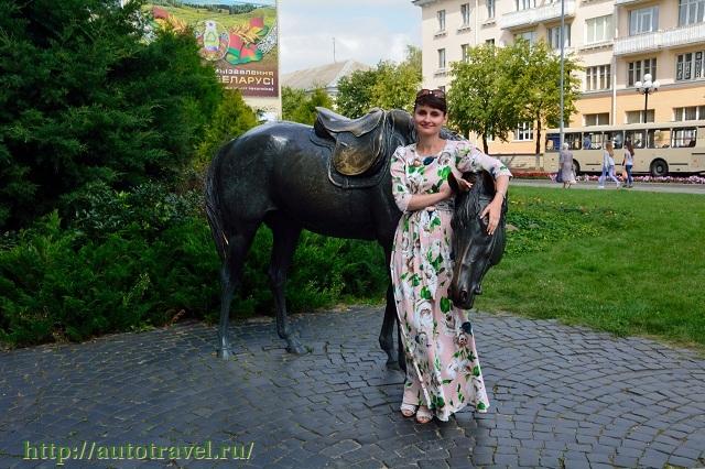 Фотография Памятник лошади (Барановичи (Беларусь))