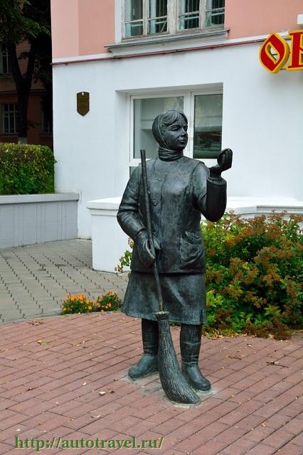Фотография Памятник дворнику (Гомель (Беларусь))