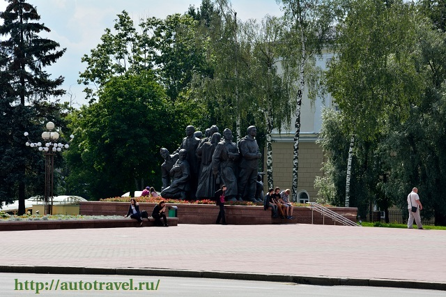 Фотография Парк Победителей (Витебск (Беларусь))