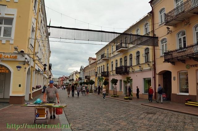Фотография Пешеходная улица (Гродно (Беларусь))