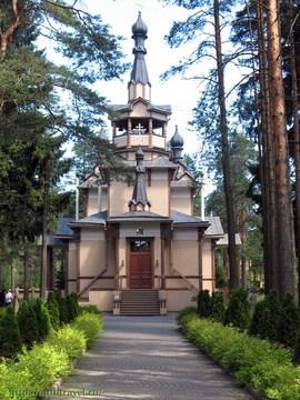 Санкт-Петербург (Ленинградская область): Достопримечательность Храм преподобного Серафима Саровского