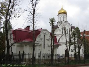 Саратов (Саратовская область): Достопримечательность Храм во имя святого равноапостольного великого князя Владимира