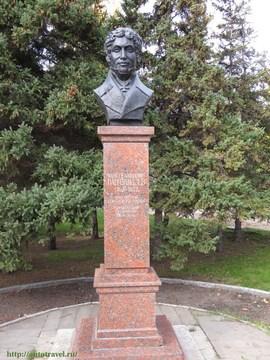 Саратов (Саратовская область): Достопримечательность Памятник А. Д. Панчулидзеву
