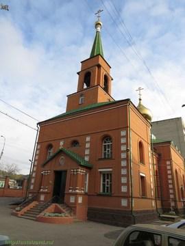 Саратов (Саратовская область): Достопримечательность Храм в честь Казанской иконы Божией матери