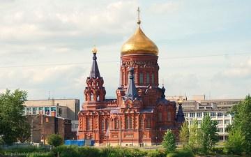 Санкт-Петербург (Ленинградская область): Достопримечательность Церковь Богоявления Господня (Гутуевская)