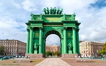 Санкт-Петербург (Ленинградская область): Достопримечательность Нарвские триумфальные ворота