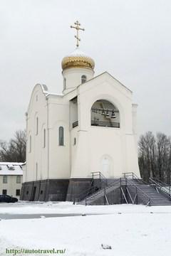 Санкт-Петербург (Ленинградская область): Достопримечательность Церковь Святых Мучеников Адриана и Наталии