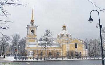 Санкт-Петербург (Ленинградская область): Достопримечательность Храм Святой Троицы Живоначальной (Гарнизонный)