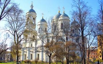 Санкт-Петербург (Ленинградская область): Достопримечательность Князь – Владимирский собор