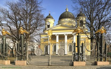 Санкт-Петербург (Ленинградская область): Достопримечательность Спасо – Преображенский собор