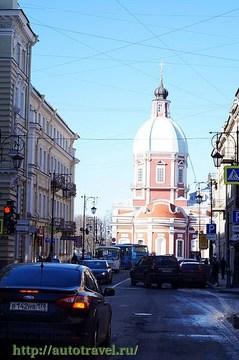 Санкт-Петербург (Ленинградская область): Достопримечательность Церковь Святого Великомученика и Целителя Пантелеймона