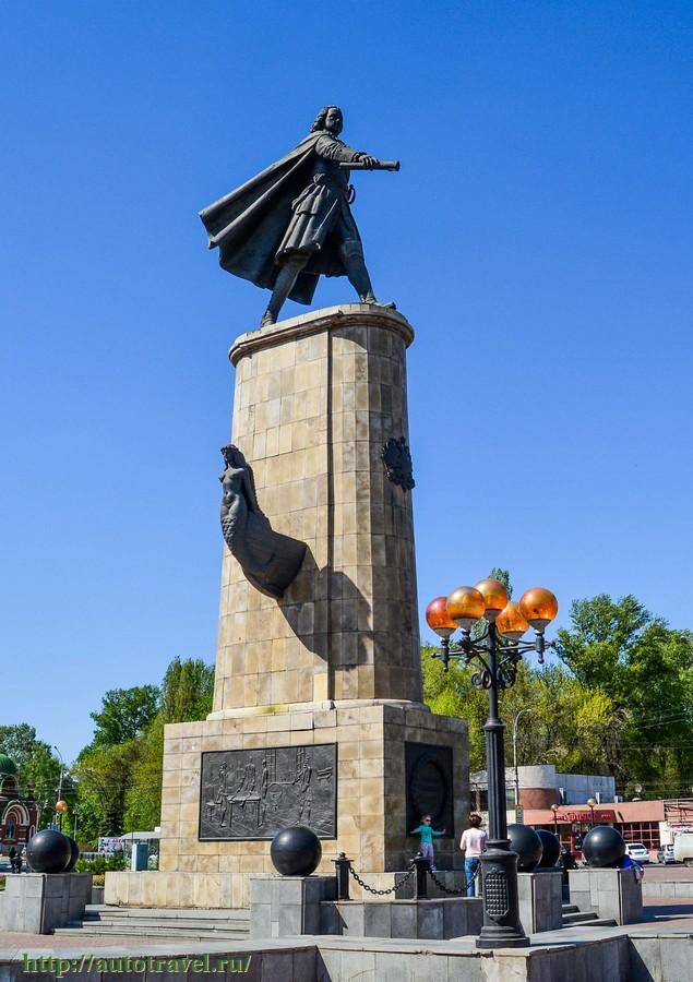 Памятник петру в липецке фото цены на памятники в витебске wildberries
