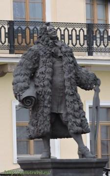 Санкт-Петербург (Ленинградская область): Достопримечательность Памятник архитектору Доменико Трезини