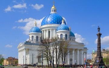 Санкт-Петербург (Ленинградская область): Достопримечательность Собор Святой Живоначальной Троицы Измайловского полка