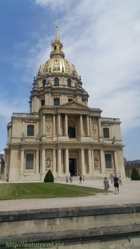 Париж/Paris (Франция): Дом инвалидов/Lhôtel national des Invalides