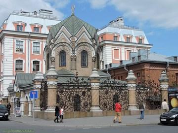 Санкт-Петербург (Ленинградская область): Достопримечательность Часовня Иверской иконы Божией матери