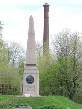 Санкт-Петербург (Ленинградская область): Достопримечательность Памятники на Артиллерийском острове