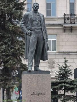 Санкт-Петербург (Ленинградская область): Достопримечательность Памятник Максиму Горькому