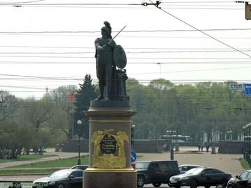 Санкт-Петербург (Ленинградская область): Достопримечательность Памятник А. В. Суворову