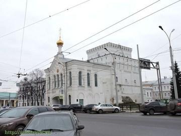 Ярославль (Ярославская область): Достопримечательность Знаменская церковь