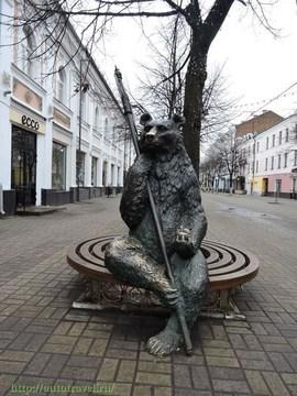 Ярославль (Ярославская область): Достопримечательность Городская скульптура