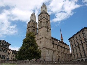 Гроссмюнстер/Grossmünster (Цюрих/Zürich (Швейцария))