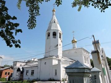 Чебоксары (Республика Чувашия): Достопримечательность Воскресенская церковь