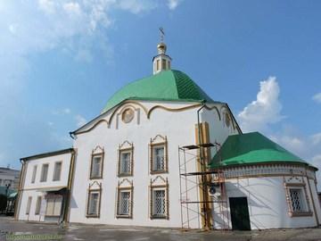 Чебоксары (Республика Чувашия): Достопримечательность Свято-троицкий мужской монастырь