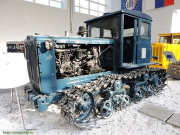 Чебоксары (Республика Чувашия): Достопримечательность Музей истории трактора