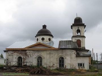 Кириллов (Вологодская область): Достопримечательность Церковь Вознесения (Иоанна Воина)